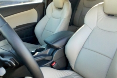 2013 Hyundai Genesis - custom leather front seat
