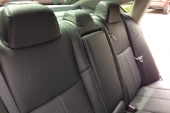 2013 Nissan Altima - Katzkin perforated leather back seat