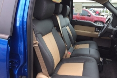 2014 F-150 - front row two toned leather