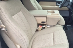 2014 F-150 - with factory cloth before leather installation