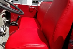 East Lake fire truck re-upholstery
