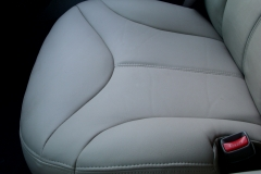 Chevy Tahoe front seat after reupholstery