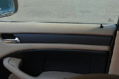 BMW 3 Series - carbon vinyl passenger door