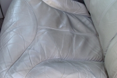 Chevy Tahoe seat before reupholstery