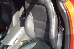Corvette front seat before reupholstery