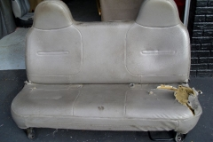 Ford F-150 bench seat - before reupholstery