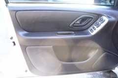 Ford Escape drivers door- after reupholstery