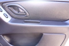 Ford Escape passenger door panel - after reupholstery