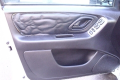 Ford Escape drivers door - before reupholstery