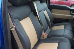 2014 Ford F-150 two toned Katzkin leather kit