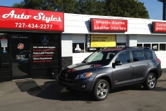 2011 Toyota RAV4 two toned leather interior