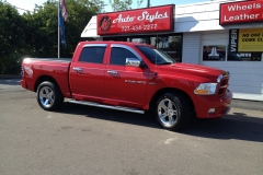 Dodge Ram two toned Katzkin leather kit