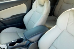 2013 Hyundai Genesis - leather front seat