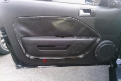 Mustang driver's door - before
