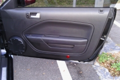 Mustang passenger door - after