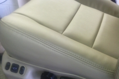 F150 seat re-upholstery - after