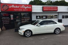 2013 Mercedes C-Class with Madico Wincos Film