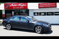 2014 Mercedes S550 Wincos - 70% full tint - Sideview
