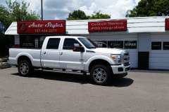 2013 Ford Super Duty - full tint
