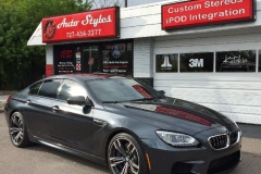2015 BMW M6 full tint