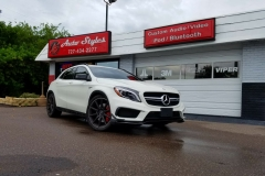 Mercedes GLA45 window tint