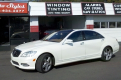 Mercedes S550 with 3M Crystalline film