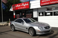Mercedes Coupe - full tint