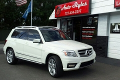 Mercedes SUV - full tint