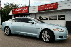 Jaguar XJ with 3M Color Stable film