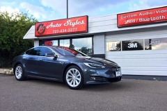 2016 Tesla S60 with full 3M Color Stable tint