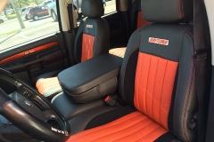 Dodge Daytona Ram Truck - Custom Katzkin Interior