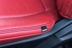 2017 F150 Katzkin Cardinal Red Interior