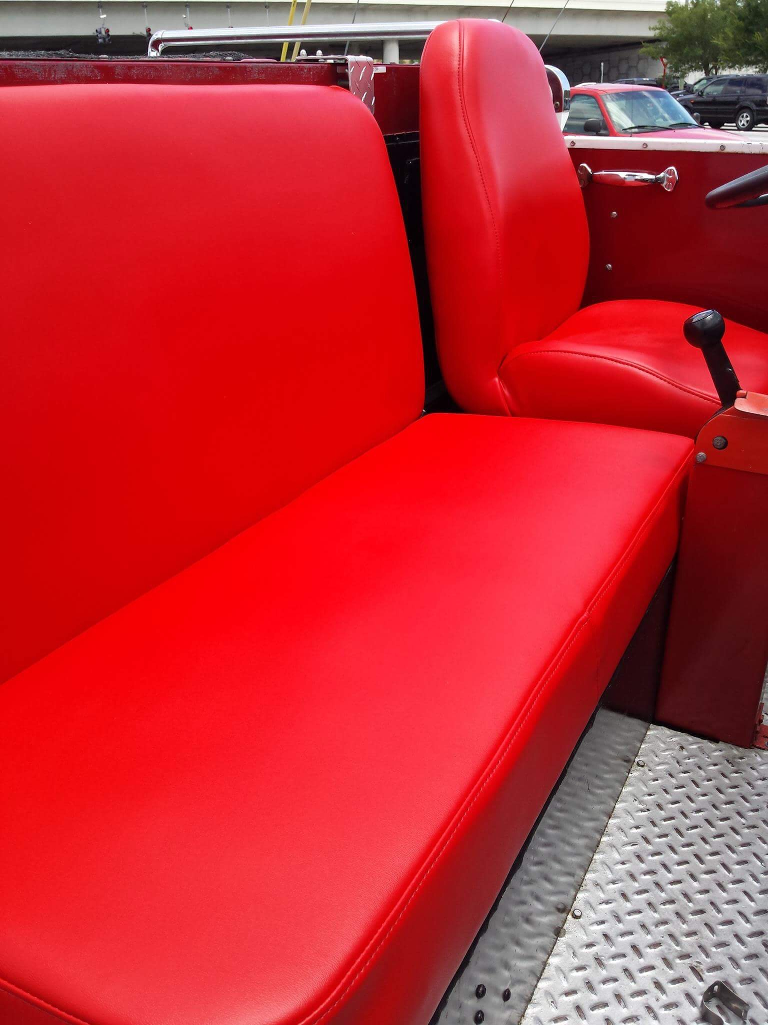 Fire Truck Upholstery Repairs - Auto Styles