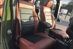 Jeep Wrangler 6x6 - interior