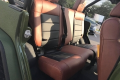 Jeep Wrangler 6x6 - interior
