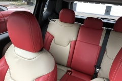 Jeep Renegade Latitude Katzkin Leather Interior