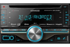 DPX-791BH - includes Bluetooth with aptX® processing for crystal-clear wireless audio streaming, Pandora and iHeartRadio Internet Radio integration for your smartphone, a built-in HD Radio™ tuner for superb AM/FM sound quality, and controls for an optional SiriusXM satellite radio tuner. Its 4″ tall front panel provides easily accessible controls for your music, while its variable-color display makes it look right at home in your dash.