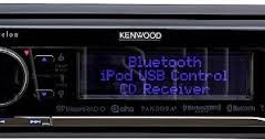 KDCX898 - Kenwood Excelon In-Dash CD/MP3 Car Stereo Receiver with Pandora and Bluetooth Support