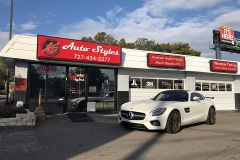 Mercedes GTS JL Audio Stereo System at Auto Styles
