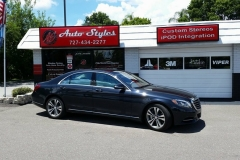 Mercedes S550 Madico Wincos Window Tint Install