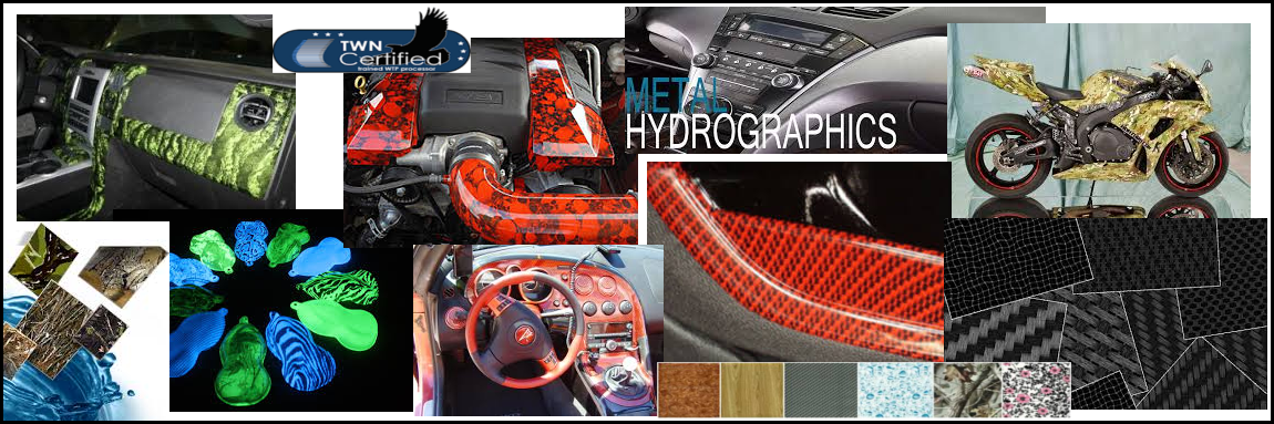 Enhance Your Vehicle In Style  with Hydrographics!