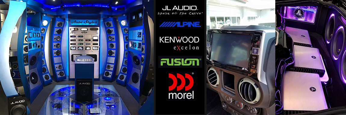 Come Visit Our Showroom To Choose Your Audio System!